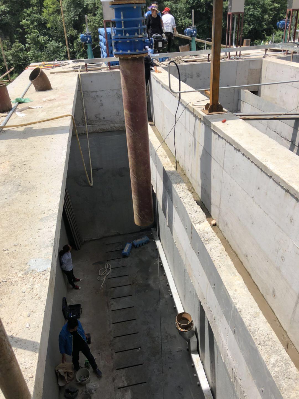 深床反硝化滤池滤砖